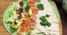 Chipotle Spinach Turkey Wrap  http://www.duckinapot.com/healthy-meal/chipotle-spinachturkey-wrap/