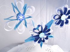 Frozen Party Hanging Snowflakes, Winter party decorations, Wall decorations on Etsy, $15.55 AUD