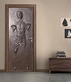 Amazon.com: Han Solo Carbonite DOOR WRAP Decal Wall Sticker Mural Home Decor Star Wars D187, 200x80: Home & Kitchen
