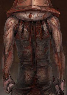 """Red Pyramid"" Silent Hill fanart by yuusuke katekari #Silent Hill"