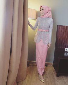 Kebaya Lace, Kebaya Hijab, Kebaya Brokat, Dress Brokat, Kebaya Dress, Kebaya Muslim, Hijab Dress, Turban Hijab, Disney Wedding Dresses