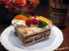 Tvarohový dezert nepečený Mexican Food Recipes, Dessert Recipes, Ethnic Recipes, Something Sweet, No Bake Cake, Tiramisu, Holiday Recipes, Nom Nom, The Best