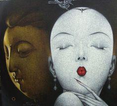 (detail) SENTIMENT B -- Qiu Shengxian (邱胜贤; b1955, Jiangxi Province, China)…