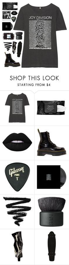 """all the roads we have to walk are winding"" by xxharrietxx ❤ liked on Polyvore featuring R13, Kat Von D, Lime Crime, Dr. Martens, Polaroid, Gibson, NARS Cosmetics and Aesop"