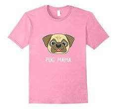 Mens Gifts for Pug Mom Pug Dad- Funny Pug T Shirt-Pug Mam...