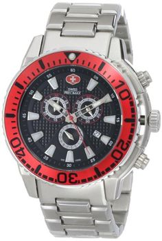Swiss Precimax Mens SP13098 Pulse Pro Analog Display Swiss Quartz Silver Watch -- Continue to the product at the image link. (This is an affiliate link) Mens Outdoor Clothing, Rolex Watches, Wrist Watches, Hipster Shirts, Outdoor Outfit, Sport Watches, Quartz, Coupon Template, Discount Rugs
