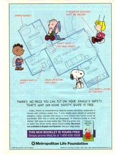 Peanuts House Floorplan Metlife Ad