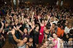 It is a party; look at these people, who each have a unique story to tell, celebrating what they've found in Rodan + Fields. At the Rodan + Fields Convention 2013 After Party #RFGoBiG