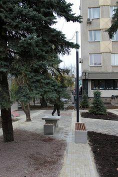 В Івано-Франківську завершились ремонтні роботи з облаштування скверика на  розі вулиць Галицька-Північний 7982b2dbf522d