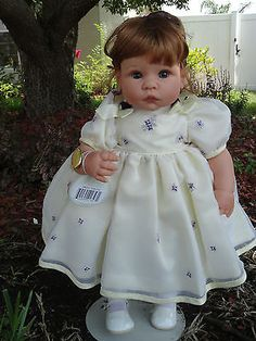 Sweet Violets Lee Middleton Toddler Doll by Reva Schick - Exc. w.COA!