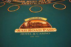 Why are casino tables green? #RailroadPass