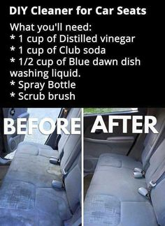 File this under: life hacks. Spring is here, or at least for some of us, and that means lots of cleaning. We've rounded up ten more easy life hacks that aim … Car Cleaning Hacks, Household Cleaning Tips, Cleaning Recipes, House Cleaning Tips, Spring Cleaning, Car Hacks, Car Interior Cleaning, Hacks Diy, Car Life Hacks