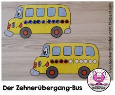 Der Zehnerübergang ist für viele Schüler nicht einfach zu verstehen. Meine Einführung zu diesem Thema mache ich immer mit den Zehner-Buss...