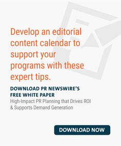 High-Impact PR Planning that Drives ROI & Supports Demand Generation Pr Newswire, Marketing Professional, Public Relations, White Paper, Content Marketing, Knowledge, Social Media, Social Networks, Inbound Marketing