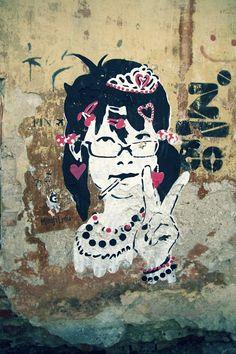 Artist: MinaJaLydia | Community Post: 21 Awesome Street Art Pieces From Tartu, Estonia!?