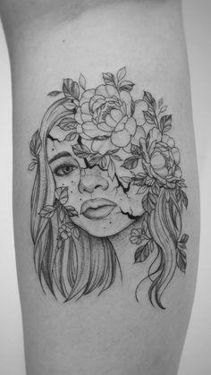 Wolf Tattoo Sleeve, Scar Tattoo, Sleeve Tattoos, Leg Tattoos, Small Tattoos, Delicate Tattoos For Women, Airbrush Tattoo, Modern Tattoos, Memorial Tattoos