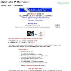[GET] Download Cable Descramblers Plans Get Free Cable. Bonus! : http://inoii.com/go.php?target=smartone