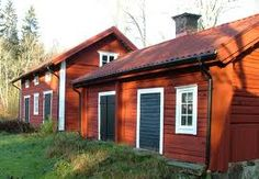 uthus - Sök på Google Country Life, Country Style, Red Cottage, Scandinavian Home, My Dream, Sweet Home, Shed, Outdoor Structures, Cabin