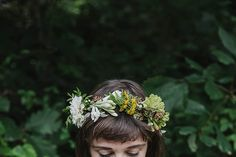 Making a Floral Crown by Beth Kirby   {local milk}, via Flickr