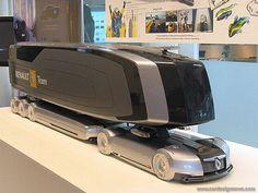 Beautifull Cars Renault Trucks [Futuristic Vehicles: http://futuristicnews.com/category/future-transportation/]