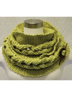 Big Cable Crochet Cowl from Annie's. Order here: https://www.anniescatalog.com/detail.html?prod_id=114894&cat_id=1170