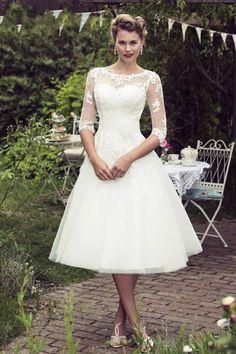 abece5420ff6 Short Wedding Dress Vintage Bridal Dress 1950's Bateau Sleeveless Reception Bridal  Gown | wedding | Wedding dresses, White dress summer, Dresses
