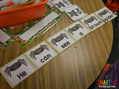 Sight Word Stations~