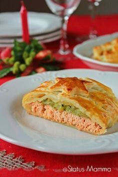 Salmon in crust Christmas recipe according to simple cooking … – Meat Foods Fish Recipes, Meat Recipes, Seafood Recipes, European Dishes, Good Food, Yummy Food, Xmas Food, Fish Dishes, Antipasto