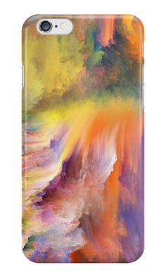 Smoke – beautiful smoke. Iphone case