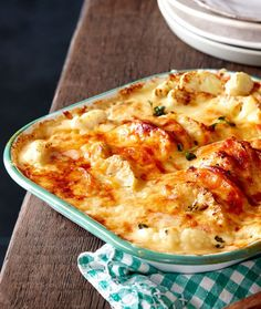 This irresistible creamy sweet potato, cauliflower bake recipe is the ideal vegetarian comfort food for the cooler months. Sweet Potato Sauce, Sweet Potato Recipes, Sweet Potato Bake Recipe, Savoury Recipes, Vegetarian Comfort Food, Vegetarian Recipes, Cooking Recipes, Vegetable Dishes, Vegetable Recipes