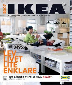 Every Ikea Catalog Cover Since 1951 Ikea Inspiration, Ikea Design, Home Interior Catalog, Catalogue Ikea, Ektorp Sofa, Catalog Cover, Furniture Manufacturers, Handmade Home Decor, Ikea Hacks