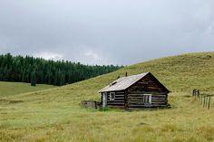 Abandoned Cabin - White Mountains Arizona
