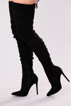5cc5ca63c66 Vicky Over The Knee Boot - Black
