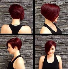 Really Cute Hairstyles for Short Hair 2016 - 4 #ShortBobs