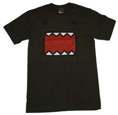 Domo Kun: Domo Face Short-Sleeve T-Shirt Brown Large
