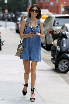 **Denim Dress ~ perfect for these scorching summer days!