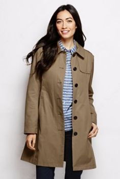 Women&39s Coastal Rain Coat from Lands&39 End - red would be nice on a