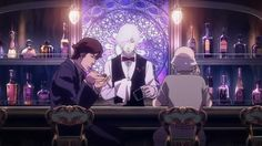 """""""Death Parade presents a deep investigation into human nature and mortality. It really gets you thinking, and is beautifully animated in a unique setting with original characters."""" – michelacole725"""