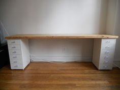 This is perfect for my art studio. Instead of wood, it will a slab of marble that we have leftover in the garage.
