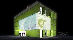 Aspern Urban Development Info Center by VMA (Shipping Container Architecture) (2)