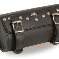 Studded Biker tool bag Leather