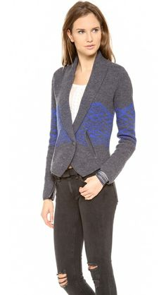 Twelfth st. by cynthia vincent Boiled Wool Cardigan