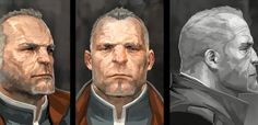 dishonored character concept art - Google Search