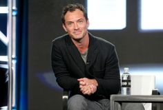 Jude Law Photos Photos - Actor Jude Law of the series 'The Young Pope' speaks onstage during the HBO portion of the 2017 Winter Television Critics Association Press Tour at the Langham Hotel on January 14, 2017 in Pasadena, California. - 2017 Winter TCA Tour - Day 10