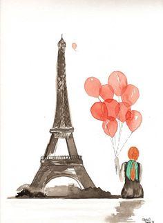 Paris... A cidade do amor.