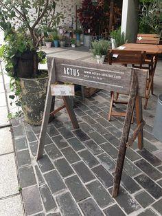 古材を使ったサイン! | リノベーションノート(インテリア、家具、雑貨、建築、不動産、DIY、リノベーション、リフォーム)