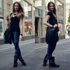 Lisa Fiege - Bijou Brigitte Bracelet, Pimkie Top, H&M Bag, H&M Jeans, H&M Necklace, Diesel Watch - Let love find you