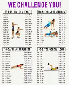 30 Day Abs, Buns and Guns Challenge