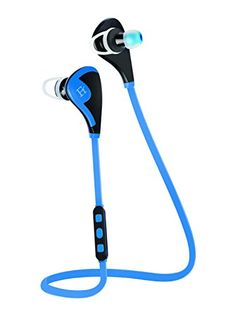 Bluetooth Headphones V4.1 Wireless Headset Sweat Proof Earbuds from Ferlen Lightweight Noise Isolating Sport Earphones ideal for Exercise/Running/Gym/Work Out/ with Microphone and High Quality Stereo Sound for iPhone 6 6 plus 5S 4S Galaxy S6 S5 and iOS Android Windows Smartphones and Tablets (Blue) http://themarketplacespot.com/wp-content/uploads/2015/08/41XXG8GghML.jpg   H08S Bluetooth Sports Headphones  Enjoy Your Sports Enjoy Your Music - Would you like to be able to liste