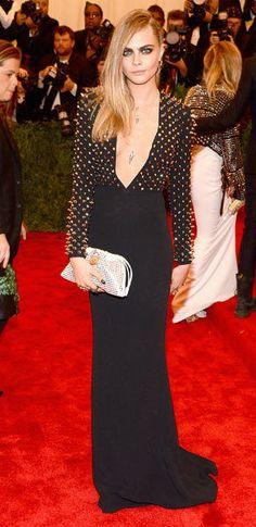 I think Best Dressed for the Met Gala  Cara Delevingne   Met Gala 2013